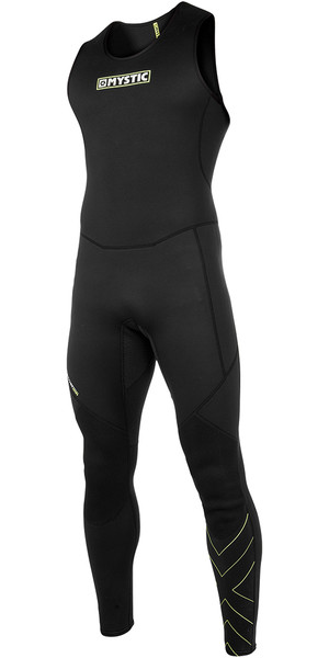 2018 Mystic MVMNT Endurance SUP 1.5mm Flatlock Long John Wetsuit Black 180128
