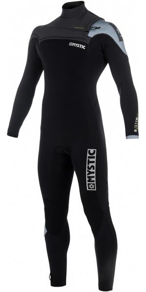 2018 Mystic Majestic 3/2mm GBS Chest Zip Wetsuit Black / Grey 180004