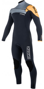 Mystic Majestic Chest Zip Wetsuit 4/3mm ORANGE 180003