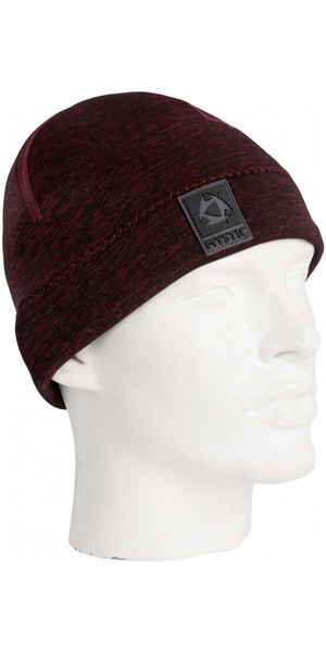 2019 Mystic 2mm neopreen beanie RED 180038
