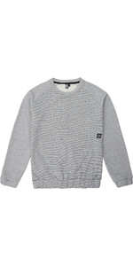 Mystic Mens Ridge Crew Neck Jumper Grey 190507