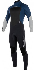 2019 Mystic Star 5/4mm GBS Back Zip Wetsuit NAVY 180018