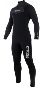 2019 Mystic Star 5 / 4mm Double Front Zip Wetsuit NEGRO 180016