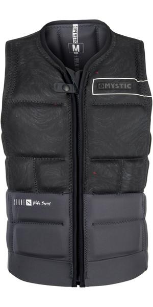 2018 Mystic Stone Impact Vest Front Zip BLACK 180145