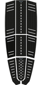 2019 Mystic Ambush Kiteboard Full Deckpad Classic Shape Black 190149