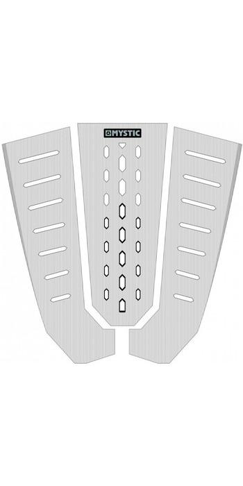 2021 Mystic Ambush Kiteboard Tailpad Classic Shape White 190151