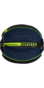 2019 Mystic Arch Flexshell Waist Harness Navy / Lime 190111
