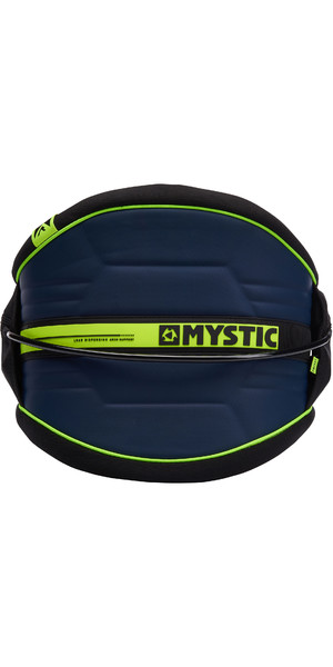 2019 Mystic Arch Flexhell Waist Harness Navy / Lime 190111