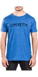 2018 Mystic Brand 2.0 Tee Blue Melee 180044