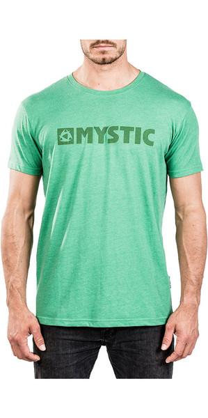 2018 Mystic Brand 2.0 Tee Green Melee 180044