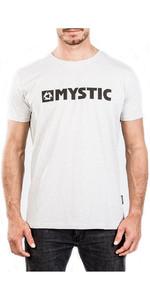2018 Mystic Brand 2.0 Tee Grau Nahkampf 180044