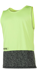 Mystic Drip Loosefit Quick Dry Tank Top Lime 180103