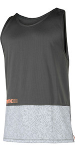 Mystic Drip Loosefit Camiseta Sin Mangas De Dry Rápido Naranja / Gris 180103