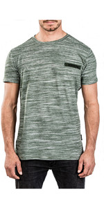 Mystic Gale Tee Rock Green Melee 180043