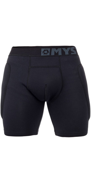 2018 Mystic Kite Impact Boxer Shorts Black / Grey 180086