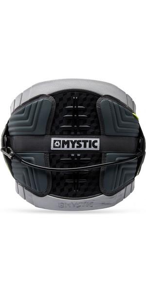 2018 Mystic Legend Kite Cinturón de cintura Negro / Plateado 180042
