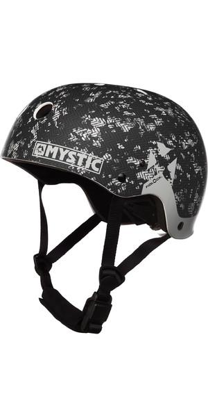 2019 Mystic MK8 X Helm Schwarz / Weiß 180160