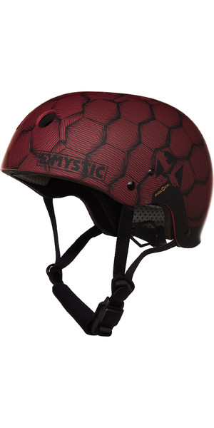 2019 Mystic MK8 X Helm Dunkelrot 180160