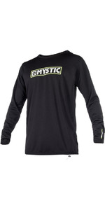 Mystic Mvmnt L / S Quickdry Loose Fit Sup Top Negro 180174
