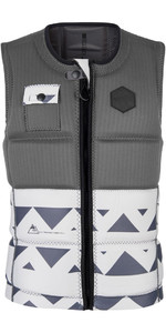 Mystic Magician Front Zip Vest Met Front Zip Grijs 180150