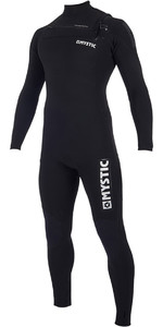 2019 Mystic Majestic 3/2mm Wetsuit Met Chest Zip Zwart