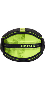 2019 Mystic Majestic Kite Taille Harness Schwarz / Lime 190109