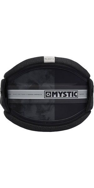 2019 Mystic Majestic Kite Waist Harness Nero / Bianco 190109