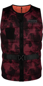2020 Mystic Majestic Wake Impact Vest WMJ - Oxblood Red