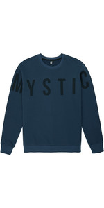 Mystic Herre Brand Crew Sort Iris 190006
