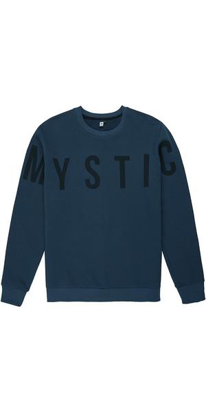 2018 Mystic Mens Brand Crew Black Iris 190006