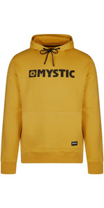 2021 Mystic Mens Brand Hood Sweat 210009 - Mustard