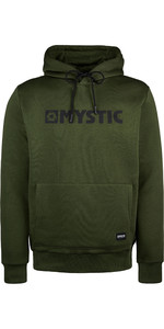 2019 Mystic Mens Brand Hooded Sweat 190035 - Moss