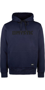 2021 Mystic Mannen Brand Hooded Sweat 190035 - Nachtblauw