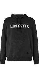 2020 Mystic Mannen Brand Hooded Sweat 190035 - Kaviaar