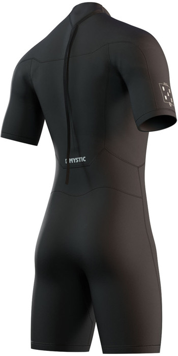 2021 Mystic Herren Brand 3/2mm Shorty Wetsuit 210.316 - Schwarz