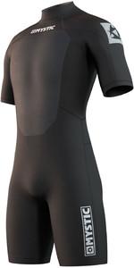 2021 Mystic Hommes Brand 3/2mm Shorty Combinaison 210316 - Noir