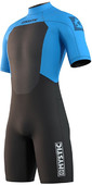 2021 Mystic Herren Brand 3/2mm Shorty Wetsuit 210.316 - Global Blau