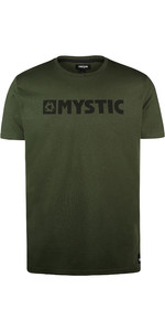 T-shirt De Brand Pour Hommes Mystic 2019, 190015 - Mousse