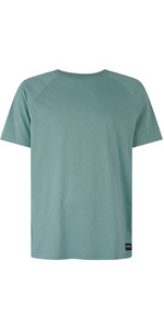 2019 Mystic Mens Cruz T-shirt Ocean Green 190054