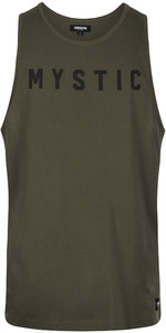 2020 Mystic Hombre Camiseta / Chaleco De Pedernal 200090 - Verde Valiente