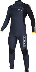2019 Mystic Mens Majestic 4/3mm Chest Zip Wetsuit 200003 - Navy