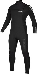 2019 Mystic Mens Majestic 5/3mm Chest Zip Wetsuit 20002 - Schwarz