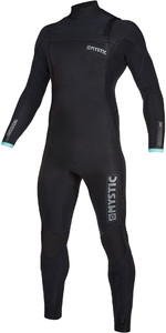 2019 Mystic Mens Marshall 4/3mm Chest Zip Wetsuit 200008 - Black / Mint