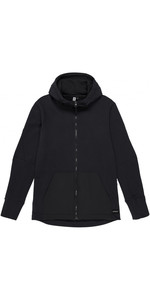 Mystic Heren Mat Sweat Hoody Caviar 190010