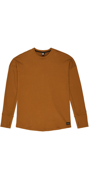 2018 Mystic Mens Miller Sweat Golden Brown 190011