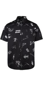 2020 Mystic Herren Party Shirt 200087 - Schwarz Allover