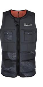 2020 Mystic Mens Peacock Impact Vest Front Zip WPE - Phantom Grey