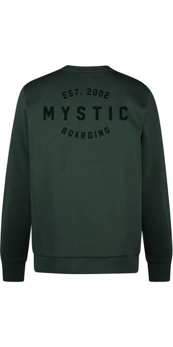 2021 Mystic Herren Rider Crew Schweiß 210007 - Grün