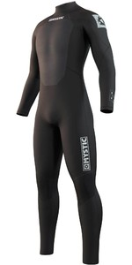 2021 Mystic Mens Star 5/3mm Back Zip Wetsuit 210309 - Black