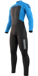2021 Mystic Mens Star 4/3mm Back Zip Wetsuit 210310 - Global Blue